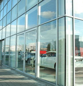 Picture of an auto dealership