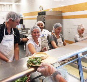 PPC feeding the homeless