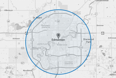 Blog hero with an area image of the city of Edmonton