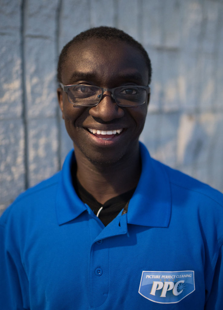 Headshot image of new team member Yacouba