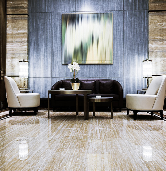 Lounge area of a building | Commercial condos and strata cleaning by Picture Perfect Cleaning