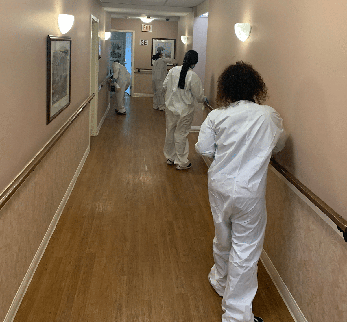 Disinfectant Services to COVID-19 Positive Infected Areas | Picture Perfect Cleaning